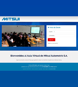 Aula Virtual en Moodle<br><br>